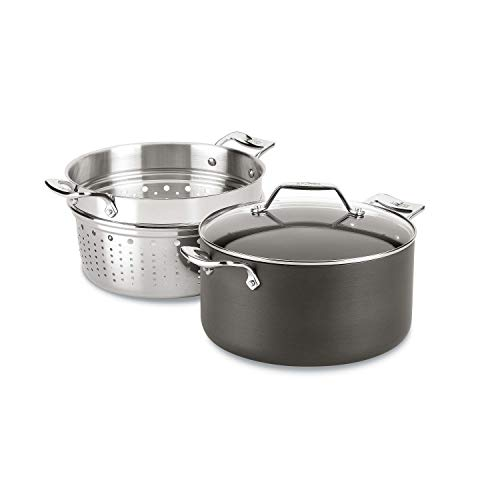 All-Clad Essentials Nonstick Multipot with insert, 7-Quart