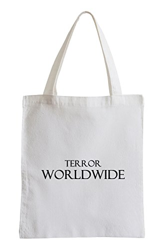 Terror Worldwide Terrorrist FBI Jutebeutel