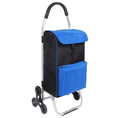 PXY Altmodischer Lebensmittelwagen, Kleiner Wagen, Einkaufswagen, Klettern, Falten, Wagen, Push, Kann Auf Älteren Menschen, Kinderwagen Sitzen