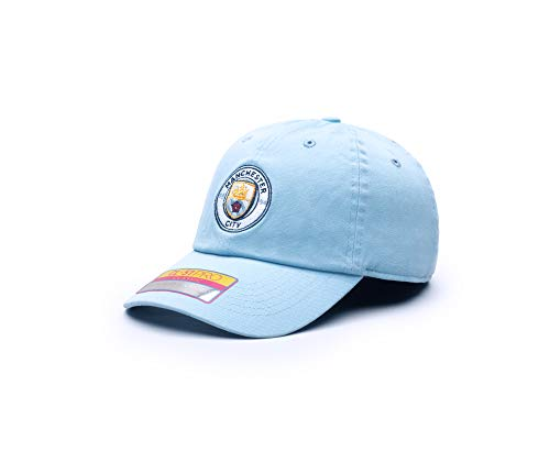 Fan Ink Manchester City Bambo Classic Hat - Light Blue, One Size