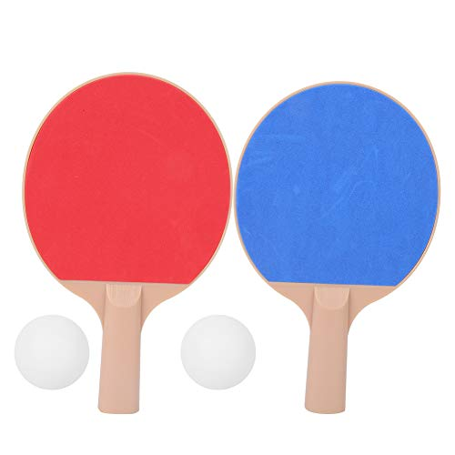 Niunion Kit de Paleta de Tenis de Mesa, Bate de Tenis de Mesa Profesional Pelota, Raquetas de Ping Pong para la Familia de los niños