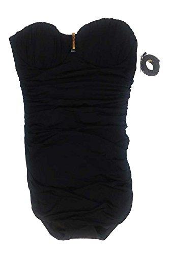 Victoria's Secret One-Piece Strapless Swimsuit Dress Black Swimwear 4A