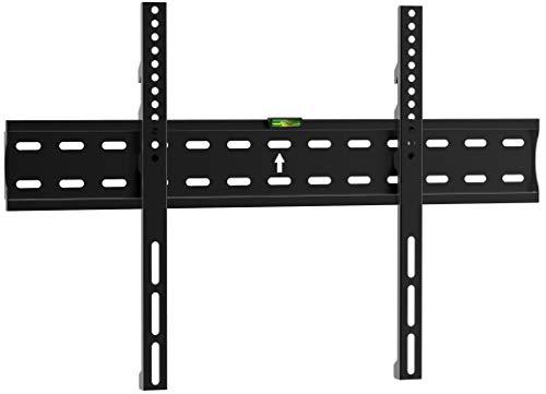 Brateck - Soporte de pared para televisores (VESA universal de 32' a 70', máx. 40 kg, distancia a la pared de 21 mm), color negro