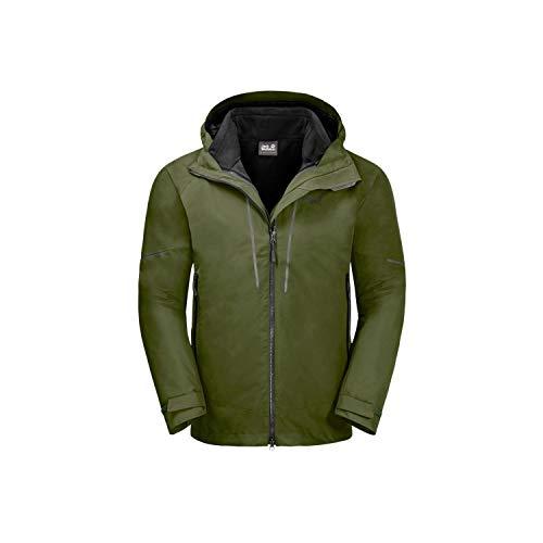 Jack Wolfskin Men's Sierra Trail 3-IN-1 M Waterproof Insulated Jacket