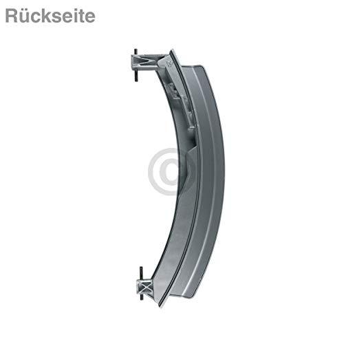 Türgriff silber matt für Bosch Waschmaschine Waschtrockner ersetzt 00648581