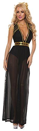 Starline S5008 Women's Black Goddess Sexy Costume Dress Set Adult-Sized,...
