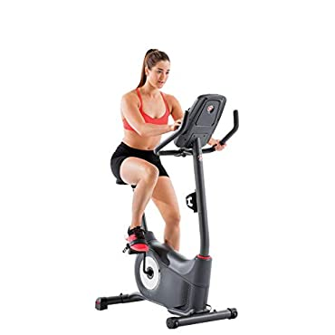 Schwinn 130 Upright Bike with LCD screen and 20 Levels of Resistance