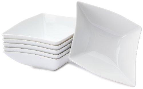 CreaTable 13490, Serie Wing weiß, Geschirrset Müslischalen 6 teilig