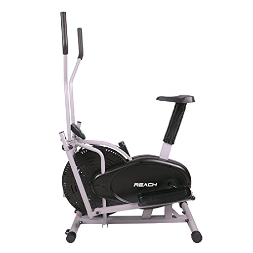 Reach Orbitrek/Orbitrack Exercise Cycle and Cross Trainer | Dual Trainer 2 in 1 Home Fitness Gym...