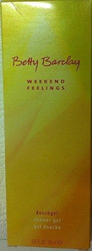 Betty Barclay Weekend Feelings Duschgel 200 ml in OVP