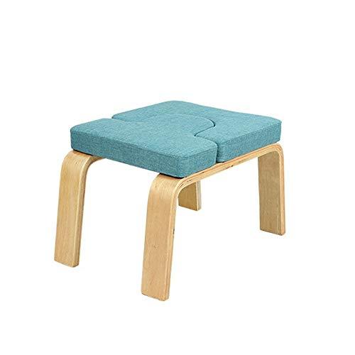 Best Bargain Zxcvlina-YD Yoga Inversion Chair Wooden Yoga Asana Practice Equipment Yoga Aid Stretch ...
