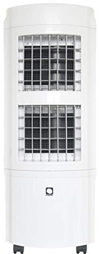 M CONFORT Climatizador Evaporativo E2000. Potencia 90W. Cobertura 30m². Máximo Caudal 2000m³/h. 4 Velocidades. Emisión <50dB. 12,3Kg. Mando a Distancia. Temporizador. Depósito 30L. Pantalla Led