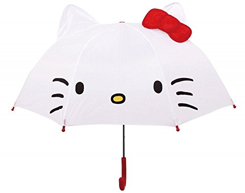 horizon where hope spread Hello Kitty Ear with Jump Umbrella White