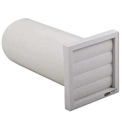 Helios Wandeinbausatz 717 WES 90/100 für Unterputz-Einbau, für Rohrlüfter und Wohnhauslüfter, Kleinraumlüfter, Blende, Rohrhülse