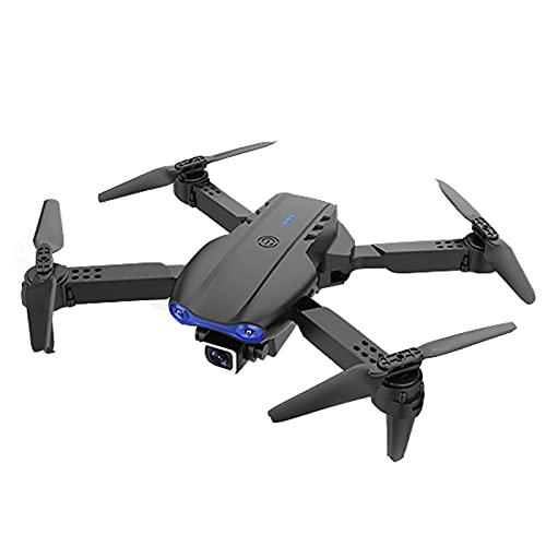 Drone GPS pieghevole E99pro, con videocamera WiFi UHD 4K, quadcopter FPV pieghevole di ritorno automatico a casa, 20 minuti di volo, lungo raggio di controllo, include borsa per il trasporto, grigio,