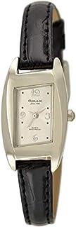 ساعة نساء من اوماكس, جلد, انالوج بعقارب, OMKC6142PB08