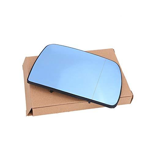 KCSAC Se adapta a BMW E53 X5 2000-2006 Azul gran angular vista Retrovisor espejo climatizado (Color : RIGHT)