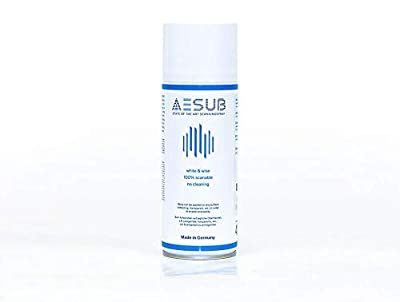 AESUB blue - State of the art disappearing 3D Scanning Spray 400 ml