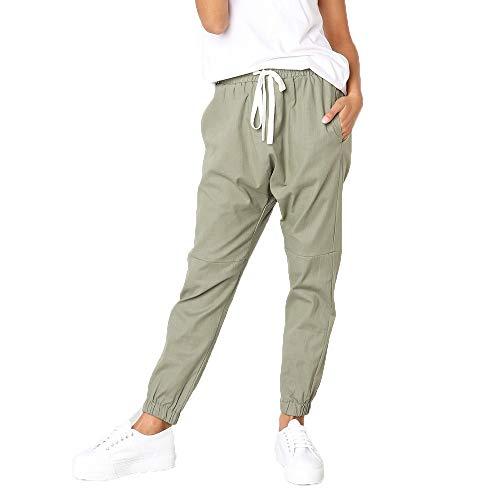 Pantalon de survêtement Femme,Covermason Femmes Sport Longue Pantalons Jogging avec Poches Pantalon de Jogging Femme Gym Pantalon de Jogging