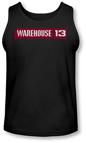 Warehouse 13 - - Logo Tank-Top pour hommes, Medium, Black