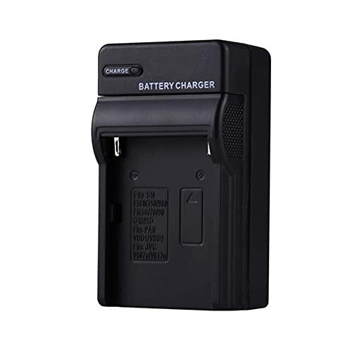 HANLILI kasu NP-F970 Cargador de batería Ajuste para Sony NP-FM500H NP-FM70 NP-FM90 BC-VM50 NP-F550 NP-F750 NP-FM50 QM71D QM91D UE AU UK UK Enchufe de Carga (Socket Standard : US)