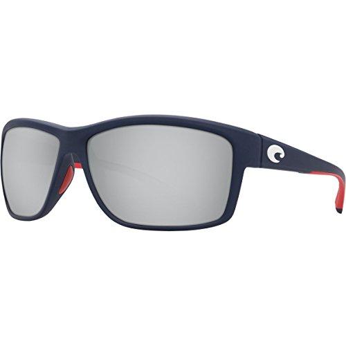 Costa Del Mar Mag Bay anteojos de sol - AA112OSCP, XL, Espejo azul plata de Estados Unidos.