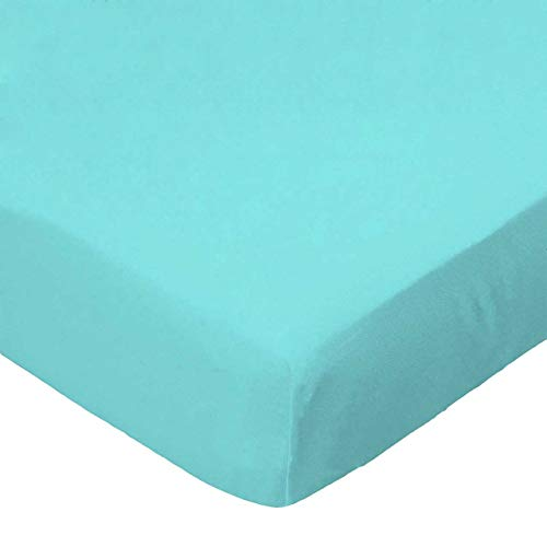 %54 OFF! SheetWorld 100% Cotton Percale Extra Deep Fitted Portable Mini Crib Sheet 24 x 38 x 5.5, So...