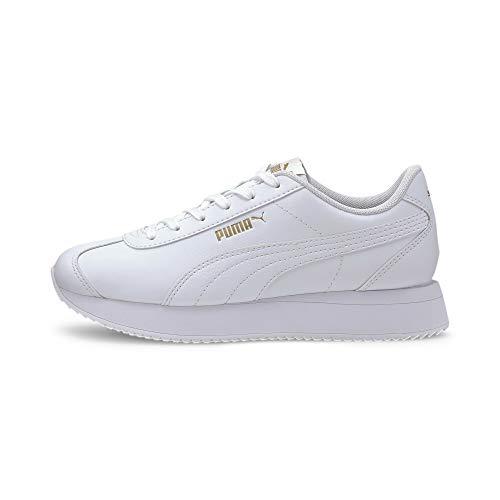 PUMA Turino Stacked, Sneaker Donna, Bianca White White, 37 EU