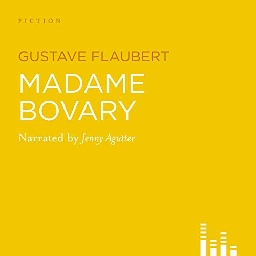 Madame Bovary audiobook cover art