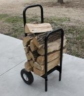 Woodhaven Heavy-Duty Firewood Cart
