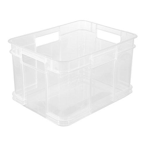 keeeper Euro-Box Bruno - transparent - 35 x 27 x 22 cm