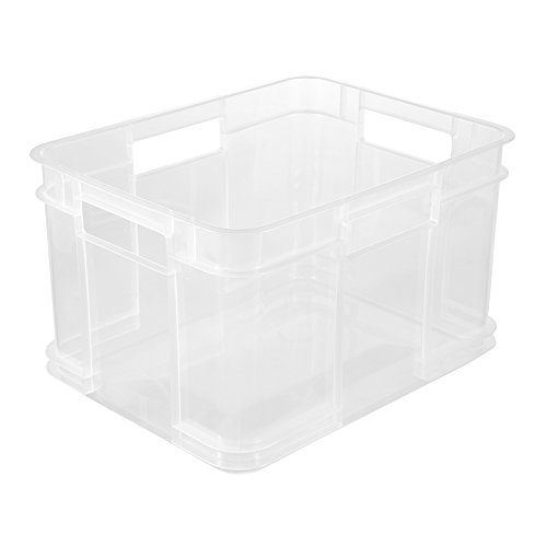 keeeper Euro-Box M, Polypropylen, Natur-transparent, 16 l