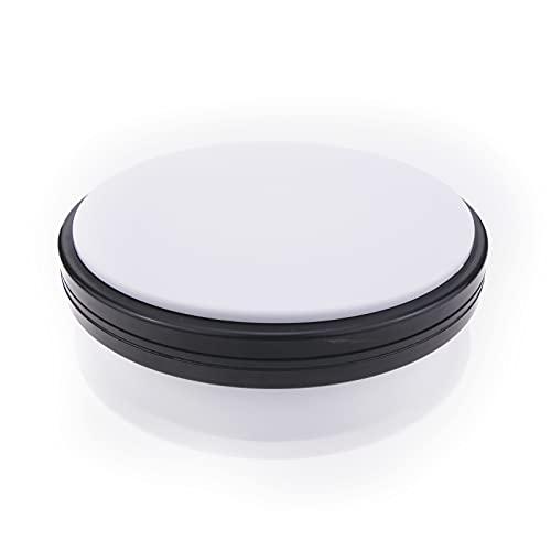 PrimeMatik - Base Girevole elettrica 15cm Bianco