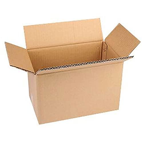 Viccilley Cajas de envío de cartón pequeñas Caja de Almacenamiento de Embalaje Corrugado Caja de envío de Cubos de Envoltura de Regalo