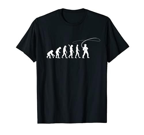 Évolution de la pêche à la mouche T-Shirt