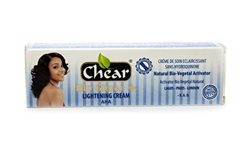 Bio Chear+ Skin Lightening Face Cream Tube 1.76 oz - with natural bio vegetal activator