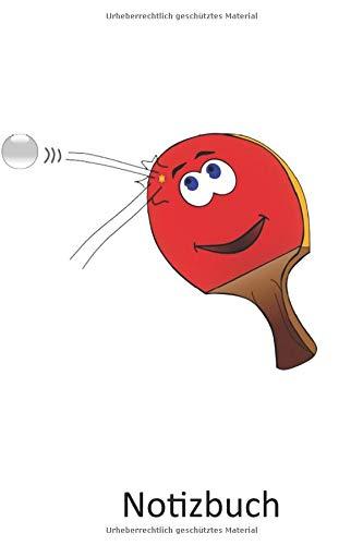 Notizbuch: Notizbuch für Coaches und Tennis Spieler   Ping Pong   Für alle Notizen, Termine, Skizzen, Zeichnungen oder Tagebuch (A5   liniertes Papier   Soft Cover   100 Seiten)