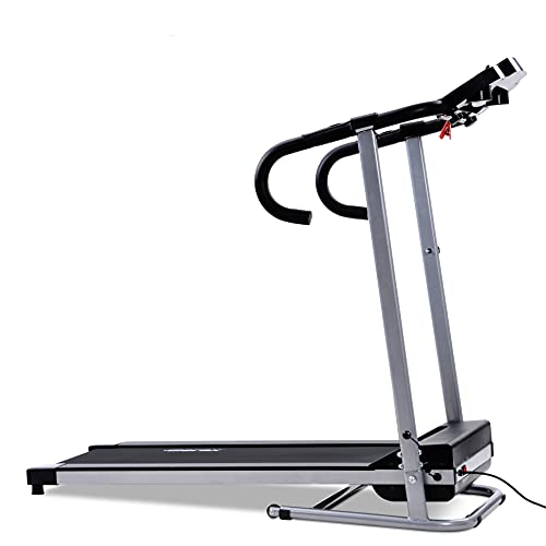 WYYUE Cinta de Correr con Velocidad Ajustable, Pantalla LCD y Contador de calorías, Dispositivo de Fitness para el hogar/Oficina
