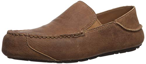 UGG Men's Upshaw TS Driving Style Loafer, Chestnut, 10 M US