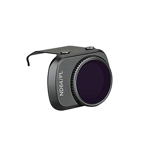 MeterMall DJI Mavic Mini Aluminum Alloy ND Filters Set ND4/PL ND8/PL ND16/PL ND32/PL ND64/PL Lens Filters with Polarizer for DJI Mavic Mini 4K Drone Camera 1PCS ND64-PL