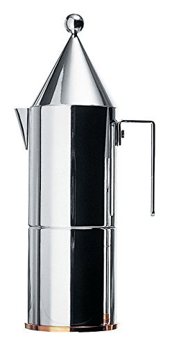 Lowest Price! Alessi 90002/6 La Conica Espresso Maker 6 Cups by Alessi