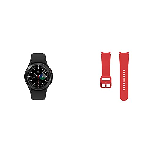 SAMSUNG Galaxy Watch 4 Classic 42mm Smartwatch with ECG Monitor Tracker Bluetooth US Version, Black with...