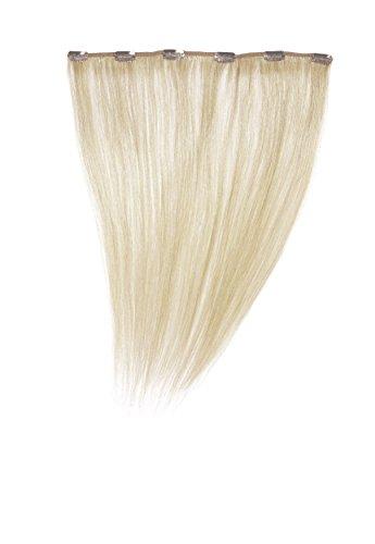 Love Hair - Extensions avec clip 100% cheveux naturels - Couleur 60 : Pure blonde - 35,6 cm