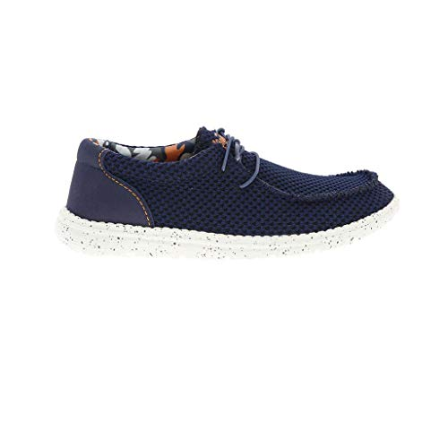 Zapato Wallabee Wallance Azul Marino de KOALA BAY
