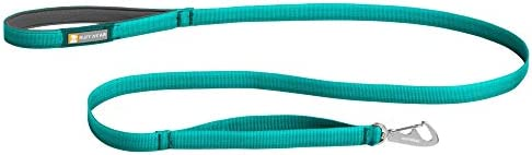 RUFFWEAR Front Range Dog Leash 5 ft Lead with Padded Handle for Everyday Walking Aurora Teal product image