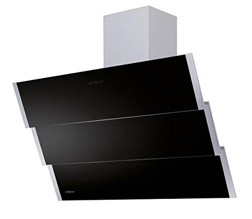 Oranier Kopffrei-Wandhaube Lito Schwarz 90cm
