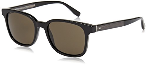 Hugo Boss 0802/S Nr gafas de sol, Negro (Black Dkgrey/Brown Grey), 52 Unisex-Adulto