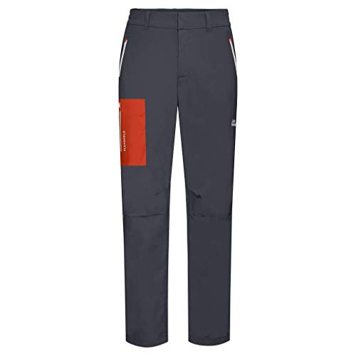 Jack Wolfskin 1506121 Pantalones, Hombre, Gris Oscuro, 58