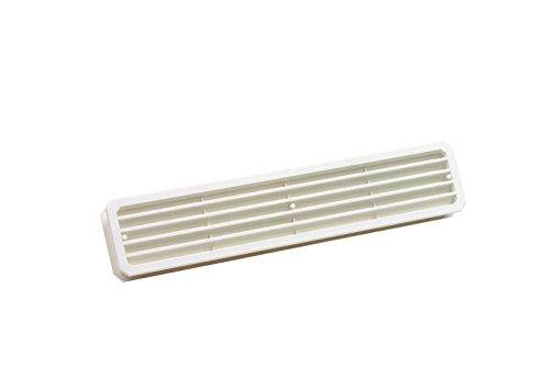 PiHaMi® Lüftungsgitter 432 x 76mm für Zimmertüren Farbe weiß