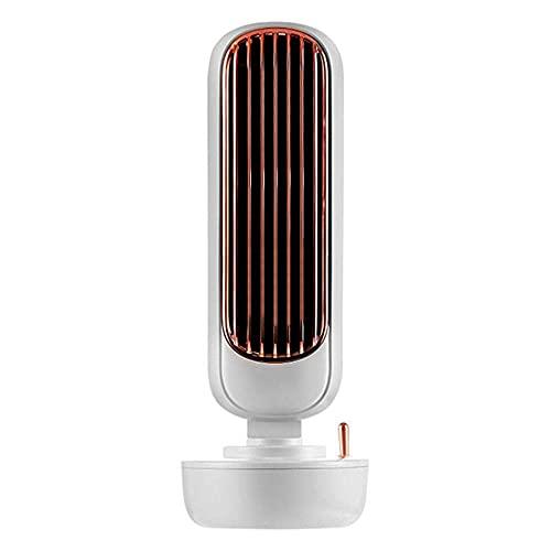 Ventilador de aire acondicionado Multifuncional Escritorio Silencioso Refrigerador de Aire Humidificador Hogar Oficina USB Ventilador de Refrigeración sin Hojas